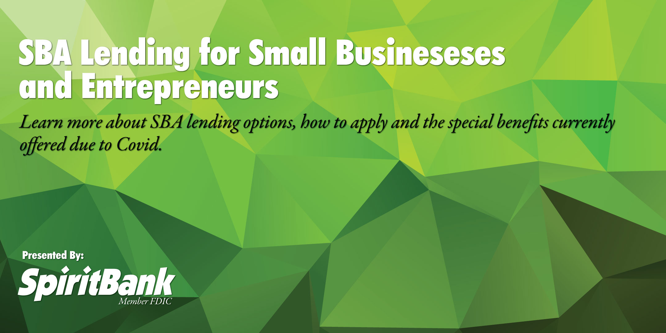 SBA Lending for Small Businesses and Entrepreneurs